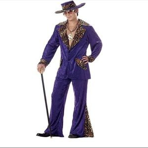 California Costume Collection 70's Pimp Costume